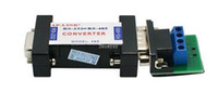 Wholesale Rs232 Serial Interface - 300pcs lot RS232 to RS485 Passive Interface Converter Adapter Data Communication Serial