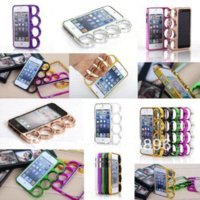 Wholesale Iphone Knuckle Ring Case - Cool Lord of Knuckle Style Finger Rings Hard Phone Case Cover Shell For iPhone 5 5G 5S Free Drop Shipping