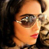 Wholesale Cheap Black Eyeglass Frames - Newest Plank CAZALS Sunglasses MOD 906 Oval Cheap Mens Womens Vintage Top Quality Cazals Frames Eyewear With Original Case Eyeglasses