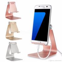 tischplatten-tischständer großhandel-Universal Phone Tablet Aluminium Desktop Standhalterung Halter für iPad Air 2 3 4 5