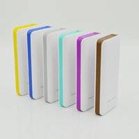 Wholesale Dual Port Universal Power Bank - Universal 7500mAh Power Bank Dual USB Port Portable Charger For iphone ipad SamSung cellphone External Backup Battery