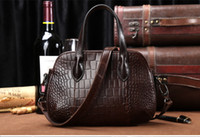 Wholesale Ladies Handbags For Sale - Hot Sale Vintage Handbags large-capacity Brand New women shoulder bag High quality leather handbag Fashion Casual Evening Bag for lady