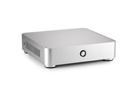 Wholesale Office Card Stock - mini PC Brand New V44 Aluminum housing Intel Quad Core 4GB DDR 120GB SSD fanless Integrated Card fashion office game HTPC