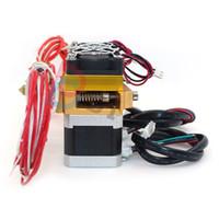 bocal mk8 venda por atacado-Freeshipping DIY Mk8 Cabeça Dupla Bico Extrusora Dupla Cabeça de Impressão MK8 Extrusora J-cabeça Hotend Para Impressora 3D Reprap prusa i3 Makerbot