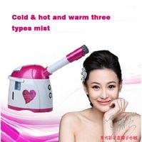 Wholesale Mist Vaporizer - Free shipping Mini Ozone vaporizador Facial Steamer Skin Care tool Moisturizing face steamer herbal vaporizer Spray Equipment