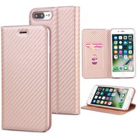 Wholesale Note Flip Back Cover - For Iphone 8 Flip Case Back Cover Phone Case PU Material with Card Poccket for Iphone 7 Samsung Note 8 Goophone 8