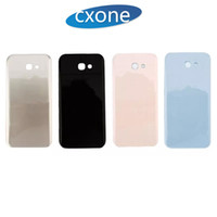 Wholesale Rear Case - OEM High Quality For Samsung A310 A320 A510 A520 A720 Housing Rear Battery Cover Glass Case Replacement Repair White Black Gold Pink