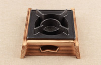 Wholesale mini wooden cast iron stove bbq grills small boiler tea stove for Hotel restaurant household