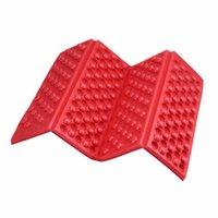 Wholesale Folding Foam Mats - Foldable Folding Outdoor Camping Mat Seat Foam XPE Cushion Portable Waterproof Chair Picnic Mat Pad 5 Colors free shipping