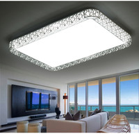 ingrosso luci soffitto forma quadrata-Fashion Bird Nest LED Plafoniere led luminarias para metallo Piazza luce ciondolo quadrato e forma rotonda per scegliere # 11 di alta qualità