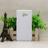 Wholesale Diy Blanks - For Samsung Galaxy A7 A710 J7 J710 J7 PRIME C7 A8 NOTE 4 NOTE 5 S7 EDGE DIY 3D Blank sublimation Case cover Full Area Printed 20pcs