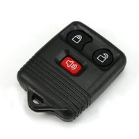 Wholesale Ford Buttons - 2 KeylessOption Replacement Keyless Entry Remote Control Key Fob Clicker Transmitter 3 Button New Keyless Entry Remote 3 Button Key Fob