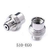 Wholesale e battery adapter - 510 to eGo Adapter E Cigarette Adapter 510 battery to eGo screw threading Adapter eGo-510 Converter Extender Electronic Cigarette