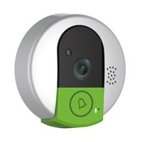 Wholesale Security Camera Peepholes - Peephole 1.0MP IP Cameras 2.3mm Lens CMOS IR-CUT IP Security Cameras with Motion Detection XN395