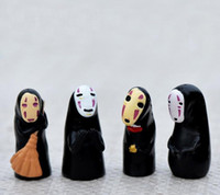 Wholesale action figure hayao miyazaki for sale - Group buy Studio Ghibli Spirited Away No Face Man PVC Action Figure Miyazaki Hayao Anime Kaonashi Model cm Decoration Doll Kids Toys b983