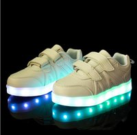 online shopping Usb Light Shoes - 25-37 Size  Children Led Lights Shoes  Boys Girls Usb Charger Light Schoenen  Kids Shoes  Luminous Shoes Casual HJIA167