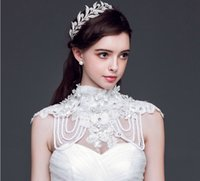 Vintage Wedding Princess Crown Tiara Bridal Headband Crystal Rhinestone Leaf Acessórios de cabelo de prata Jóias Queen Headpiece Wholesale Cheap