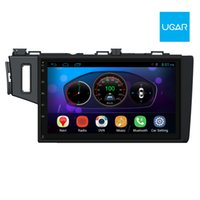 Wholesale Dvd Car Honda Fit - 10.2 inch Honda Fit Jazz 2014-16 Android Headunit Car DVD GPS Navigation Car Radio Wifi Bluetooth
