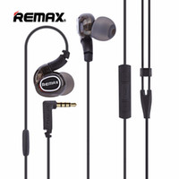 Wholesale Pro Mic Headset - Remax RM-S1 PRO Neckband Earphone Sport Running Earhook Headset Wire Control with Mic Stereo Music Earphones for Smartphone