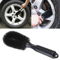 Wholesale Motorcycle Cleaner - Car Vehicle Motorcycle Wheel Tire Rim Scrub Brush Washing Cleaning Tool Cleaner CCA_100