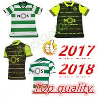 Wholesale soccer jersey portugal - 2017 2018 Sporting Clube de Portugal Lisbon Futbol Camisa Lisboa Dost Martins Soccer Jersey 2017 18 Football Camisetas Shirt