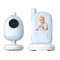 Wholesale Music Baby Phone - 2.4 inch LCD monitor camera baby phone IR Nightvision Lullabies Temperature Monitor Intercom Feeding Alarm babyphone video nanny