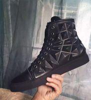 moda ayakkabıları kore tarzı erkekler toptan satış-Moda Ünlü Marka Moda Stil Kore Sürüm ayakkabı erkekler Günlük Ayakkabılar Yüksek Kalite Üst Marka Tasarımcı Flats 3D Erkekler Ayakkabı