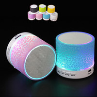 Wholesale Mp4 Portable Sound - Hot MINI Wireless Bluetooth Speaker USB speakers Portable Music Sound Box Subwoofer Hand-free Call LED Speaker Laptop PC MP3 MP4 Player Car