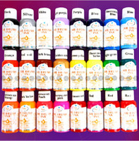 Wholesale Nail Designs Airbrush - 24 Colours 30ml Nail Art Airbrush Paint Ink For Tip Airbrush Painting Design With Free Shipping