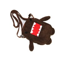 Wholesale Domo Kun Plush Bag - Wholesale Domo Kun Plush Bag Cute Soft Stuffed Toy Domokun Funny Domo-Kun Shoulder Bags Plush Toys for Kids