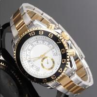 Wholesale glow watches - Luxury watch brand luxury high quality men's top military sports chronograph watch glow Huang Jingang quartz watch diamond relogios daydate