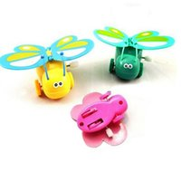 "Wholesale Plastic Wind Up Animals - 2.75"" * 2.16"" * 0.87"" 1 Pcs Clockwork Butterfly High New Kids Toddler Wind-up Butterfly Walking Toys"