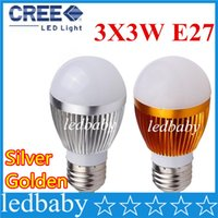 Wholesale power save spotlight bulbs resale online - Ultra Bright Cree E27 Led W W led globe Bulb Led Lamp Led Light Led Spotlight AC85 V CE RoHS High Power Energy Saving