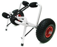 Wholesale New Aluminum Kayak Jon Boat Canoe Gear Dolly Cart Trailer Carrier Trolley Wheels