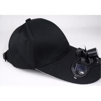 Wholesale Toy Men Black Glasses - Summer sun hat men and women solar baseball Outdoors cap summer fishing hat