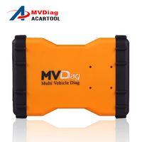 obd multi оптовых-Новый mvd Multi-корабля 2016 такие же как TCS cdp V2014R3/R2 инструмент VCI MVD диагностический плюс OBD OBD2 без Bluetooth для тележки освобождает активирует
