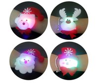 Pats Led for sale - Christmas Decorations Christmas Patting Circle Christmas Children Gift Santa Claus Snowman Deer New Year Party Toys with led light