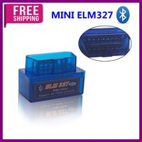 Wholesale Elm327 Software Free - Free Shipping!MINI ELM327 Bluetooth OBD2 Hardware V1.5 Software V2.1 Support Multi-Language High Quality