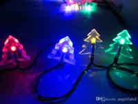 batteriebetriebene im freien weihnachtsbäume großhandel-Große förderung led solar lichterkette outdoor led weihnachtsbaum lichter batteriebetriebene lichterketten led dekoration licht für hochzeit