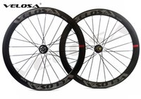 Wholesale Cyclocross Carbon - Velosa Disc 50 Road Disc Brake carbon wheelset, 50mm clincher tubular ,700C road bike wheel,cyclocross wheel