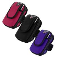 "переносная консоль оптовых-Wholesale-New Waterproof Sports Running Arm Band Holder Pouch Case For 4.7"" Mobile Phone Wholesale"