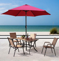 Wholesale 8 Aluminum Outdoor Beach Patio Umbrella Crank Tilt Sunshade Cover Yard