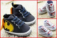 Wholesale Cheap Toddler Canvas Shoes - Spring & Autumn baby toddler shoes 2016 cheap child cartoon soft bottom casual shoes boy canvas shoes in stock 12pair 24pcs B3
