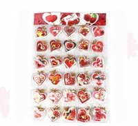 Wholesale hang tag heart card blessing cards greeting cards Thanksgiving Valentine s Day Greeting Cards postcards Christmas Invitation