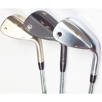 Wholesale free wedges - New mens Golf clubs wedges SM5 Golf wedges set 52.56.60 3pcs lot wedges set clubs Steel Golf shafts Free shipping