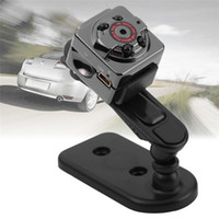 Wholesale Hid Infrared - HD 1080P 720P Sport Spy Mini Camera SQ8 Portable Mini DV Voice Video Recorder Infrared Night Vision Digital Small Cam Hidden Camcorder