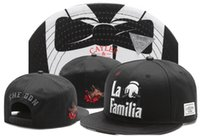 Wholesale La Snapback Hat Women - Cayler & Sons snapback hats the don la familia Paisley , classic men & women skateboard adjustable basketball caps wholesale freshipping!