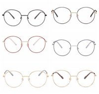 Wholesale vogue glasses frames - 6 Colors Round Sunglasses Personality Sunglasses for Unisex Luxury Brand Designer Vogue Glasses Lightweight Eyewear CCA7845 20pcs