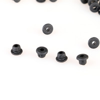 "Wholesale Color Grommets - Wholesales 100pc Durable ""T"" Grommets Tattoo Needle Pad Black Color Tattoo Machine Supply TA411"