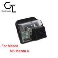 mazda rückfahrkamera großhandel-Für Mazda M6 Mazda6 Mazda 6 Drahtlose Rückfahrkamera CCD HD Rückfahrkamera Einparkhilfe